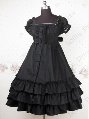 (LLT019) Lolita Dresses Short Sleeveless Sweet Lolita Short Dress Ball Gown Fancy Prom Dress Halloween Party Masquerade Costume