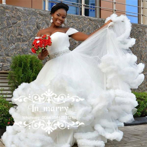 Bellanaija Nigeria African Wedding Dresses 2017 Ball Gown Off ...