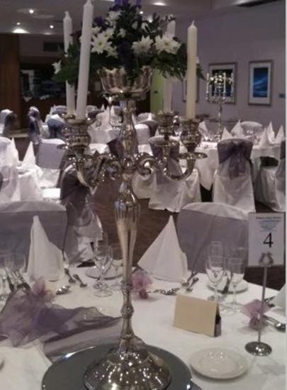 Muhteşem şerit demir düğün çiçek standı çiçek masa ile düğün masa centerpiece