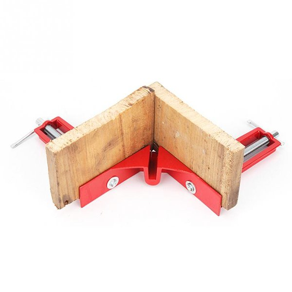 90 Degree Right Angle Corner Clamp Miter Vise Vice Picture Frame Holder Woodworking Light Duty Clamping Kit