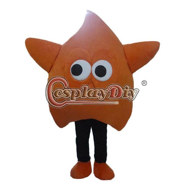 Оптово-звезда талисман мультфильм костюм талисмана на заказ на день рождения Хэллоуин карнавал партии три цвета доступны