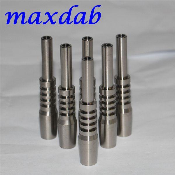 Nectar Collector Titanium Nail 14mm Inverted Nail Grade 2 Titanium Tip Ti nail for glass bong bongs oil rigs