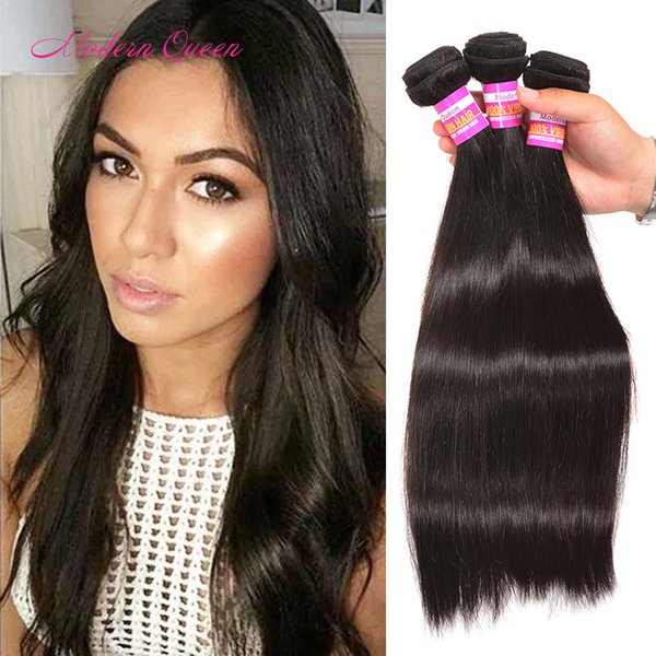Wholesale Raw Indian Hair Bundles Silky Straight Sew Weave Indian