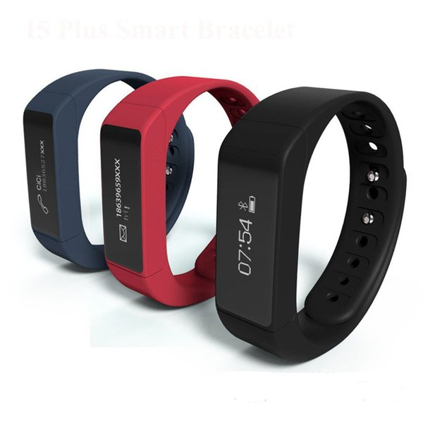 Excelvan I5 Plus Smart Bracelet Bluetooth 4.0 Waterproof Touch Screen Fitness Tracker Health Wristband Sleep Monitor Smart Watch OTH290