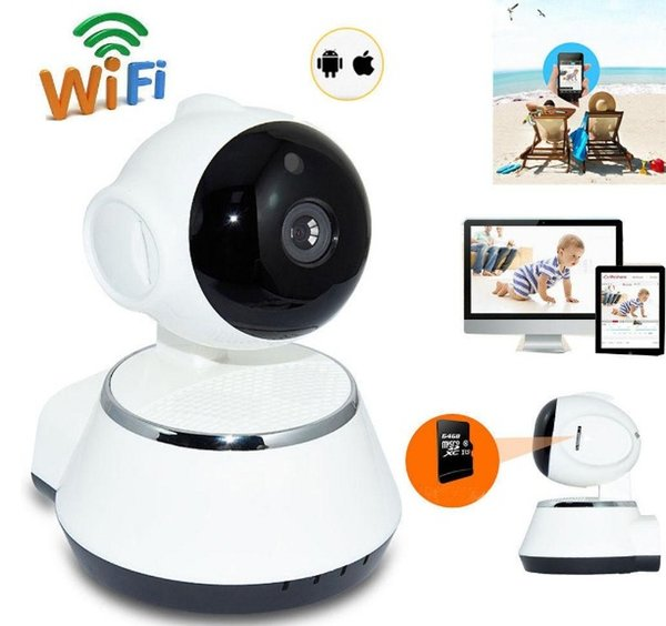V380 HD 720P IP Camera WiFi Wireless Smart Security Camera Micro SD Network Rotatable Defender Home Telecam HD CCTV IOS PC