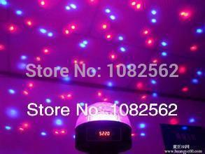 led magic ball with digital MP3 USB Port /Remote control LED crystal disco ball christmas lights and party lights
