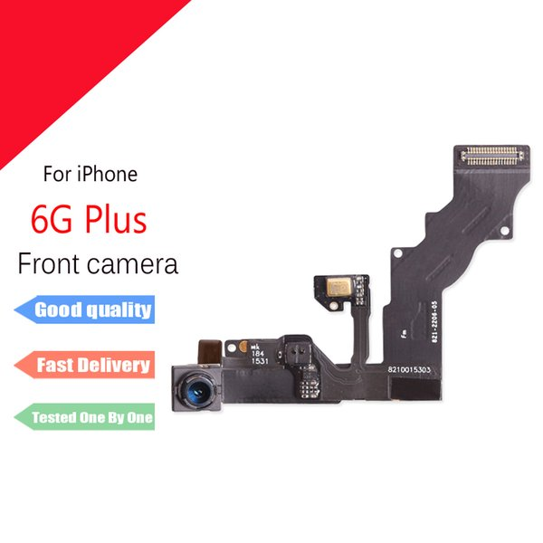 For iphone 6 Plus 5.5 Front Camera with Light Proximity Sensor flex cable Repair Parts