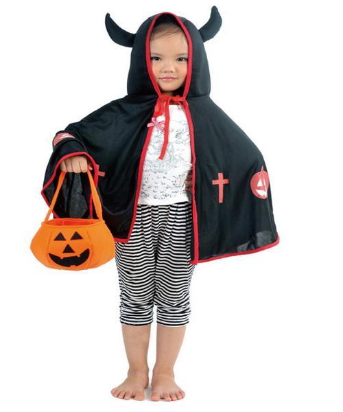 Cadılar bayramı Kabak Çanta Taşınabilir Kostümleri Dokunmamış Çanta Şeker 3D Kabak Hüner Daveti Sepet Kabak Jack O Fener