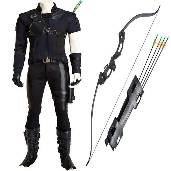 New Captain America 3 Clinton Hawkeye Goliath Ronin Cosplay Costume Custom Made Halloween Full Set Chrismas