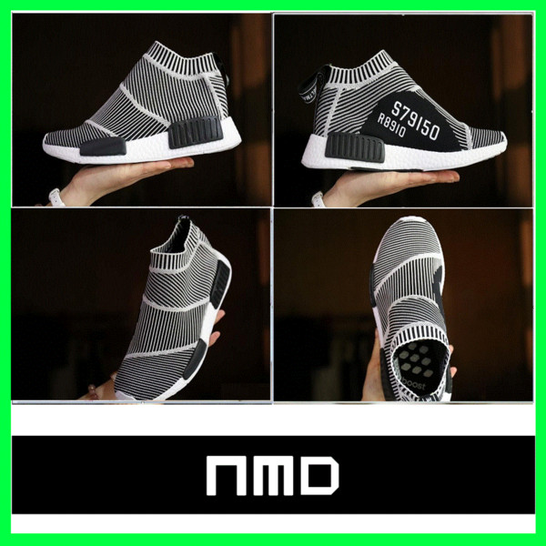 competitive price 20b68 2d048 100% Original City Sock S79150 Boost High Ankle Running Shoes Men'S NMD CS1  Primeknit PK Sport Footwear Ultra Boost Athletic Women'S Sneaker Neutral ...