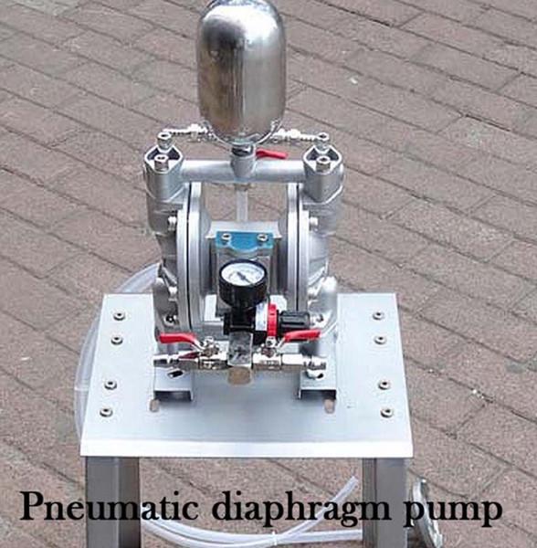 top popular 35L min Aluminum Alloy Material Paint Pneumatic Diaphragm Pump 2020