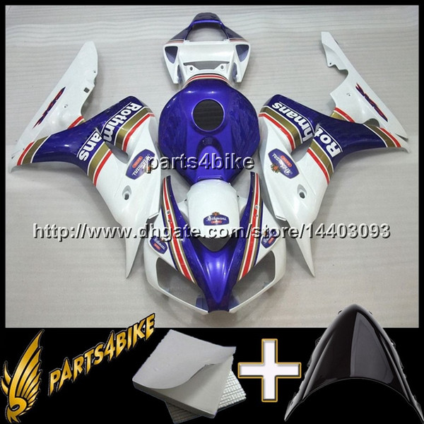 23colors+8Gifts REPSOL black Yellow CBR1000RR 06-07 2006 2007 CBR1000RR INJ Fairing INJECTION MOLD Body Kit Fairing for Honda CBR 1000