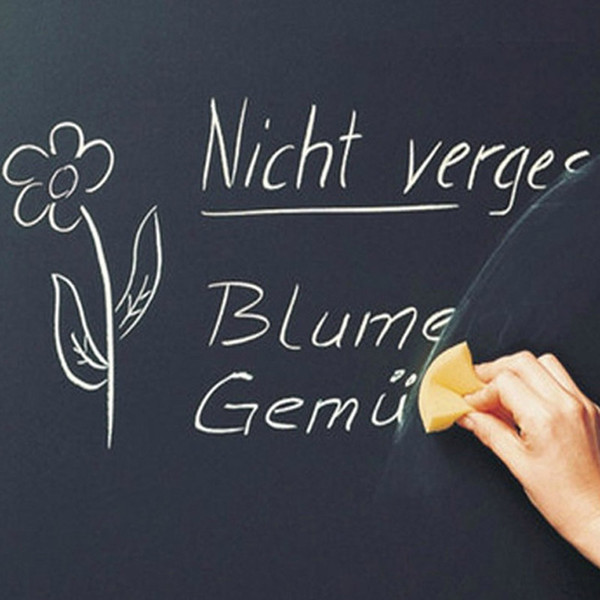 best selling 45x200cm Chalk Board Blackboard Stickers Removable Vinyl Draw Decor Mural Decals Art Chalkboard Wall Sticker for Children Kids Rooms