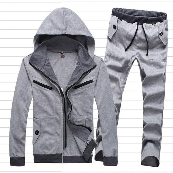 Mens Sports Suits Tracksuit Men Brand Casual Tracksuits Mans Sportswear Cool Jogging Set Survetement Homme Marque