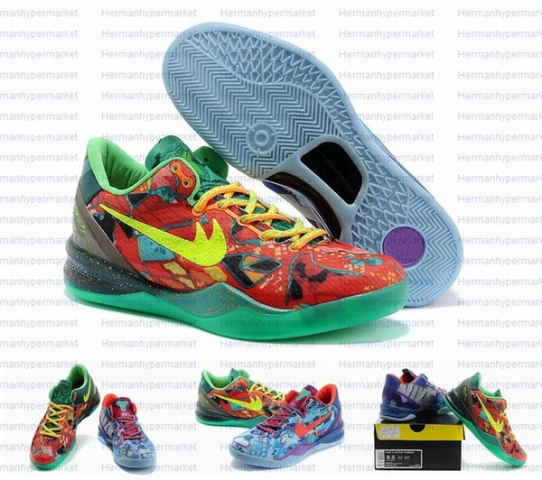 Christmas Sneakers.Zoom Kobe Bryant 8 Viii System Ss Christmas Sneakers Elite Kobe Viii Basketball Shoes For Men Discount Men S Sports Shoes Boys Basketball Shoes Cp3