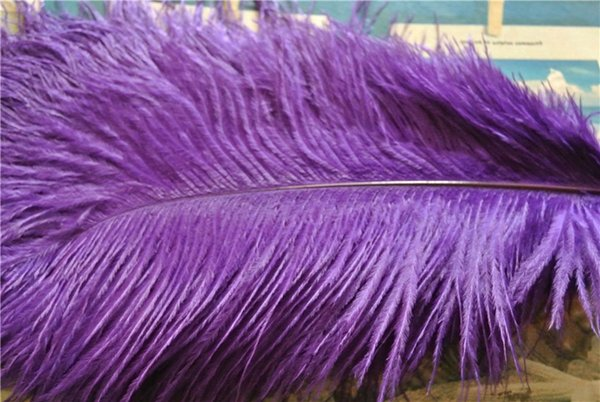 FREE SHIPPING 100 pcs/lot Purple Ostrich Feather plume for wedding centerpiece decor party event feative feather centerpiece party decor