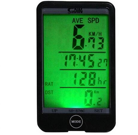 Wholesale-29 in 1 LCD Backlight Backlit Wireless Cycling Bike Computer Touch Button Waterproof Bicycle Speedometer Odometer Stopwatch