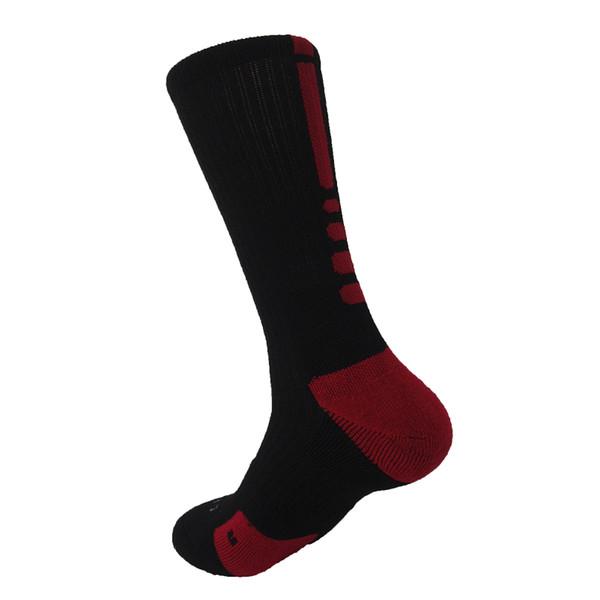 Bike Sock Outdoor Breathable Cycling Sock Badminton Football Basketball Walking Running Tennis Sports Sock 9 colours