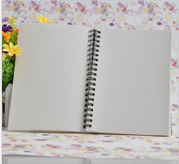 black cover/white inner sheet