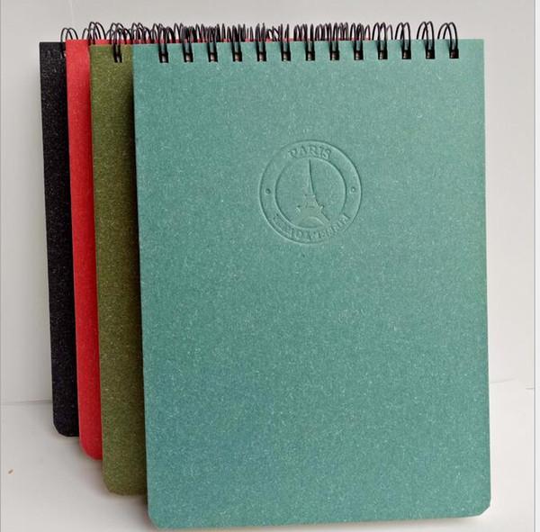 Pocket mini notepads kraft paper notes bookoutdoor travel journal notebooks Creative Trends coin spiral notebook festival kids gift