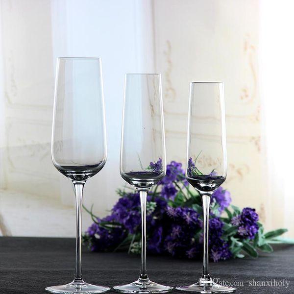 Hot slae lead free crystal champagne glass