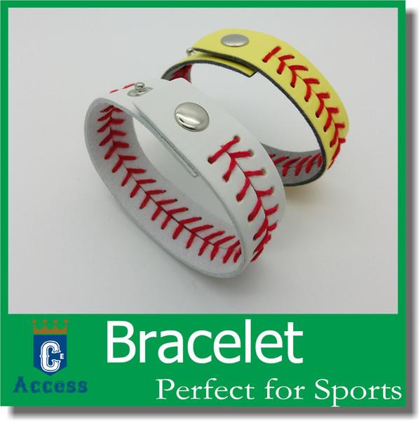 top popular 2017 New Arrival American Major League Baseball Woven Leather Bracelet Instock 3-5 days Shipping 2021