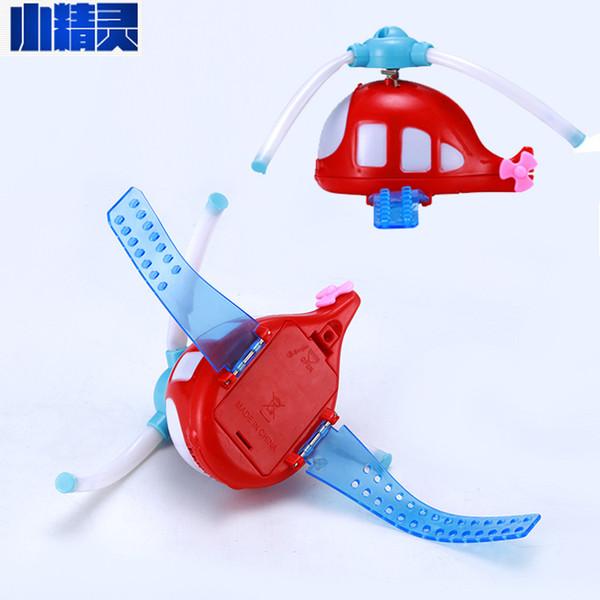Stalls selling goods Watch cartoon whale lights flash music windmill Wrist luminous toy factory direct sale