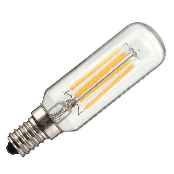 New E12 E14 T25 Energy Saving 4W 400Lumen LED Retro Vintage Edison Lamp Home Lighting Bulb Pure Warm White Non Dimmable AC110-220V