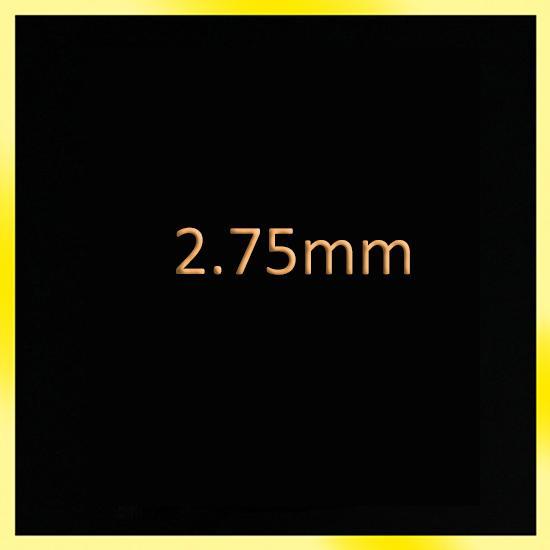 2.75mm'dir