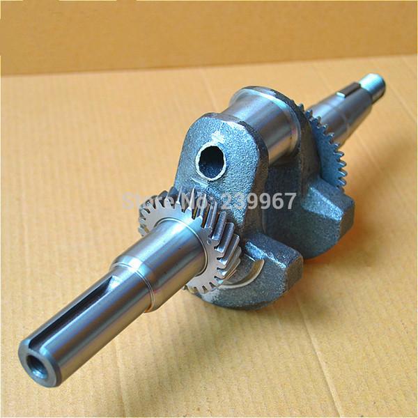 Crankshaft fits Honda GX160 5.5HP free shipping cheap nodular cast iron crank shaft 2kw generator water pump part