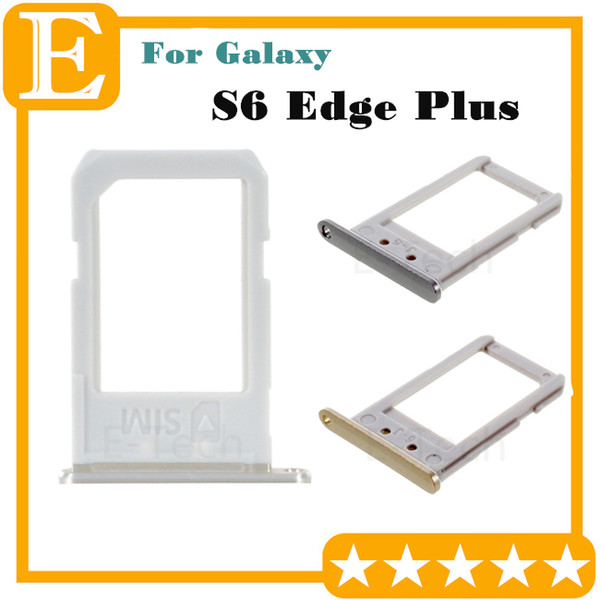 Original New SIM Card Tray For Samsung Galaxy S6 Edge Plus G9280 G928F VS G928T G928A G928V SIM Card Slot Holder Replacement Parts