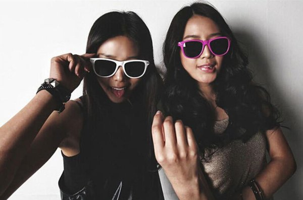 DHL free ship Women's/ Men's Beach Sung lass Plastic Lens Classic Style Sunglasses Eyewear