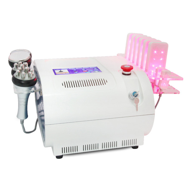 Professional Multifunction 6 In 1 Cavitation RF Vacuum BIO Lipo Laser Beauty Slimming Equipment For Body Shaping Slimming Machine
