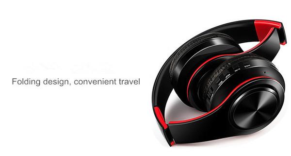 2019 heiße hochwertige drahtlose kopfhörer sol3 stereo bluetooth headsets mit mikrofon kopfhörer unterstützung tf karte für iphone