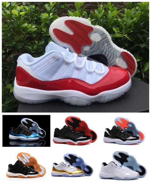 Mode luxe 11s 11 Varsity Red Bred Concord Gamma Blue Space Jam infrarouge Georgetown Blue Legend Designer Femmes Hommes Chaussures pas cher avec la boîte