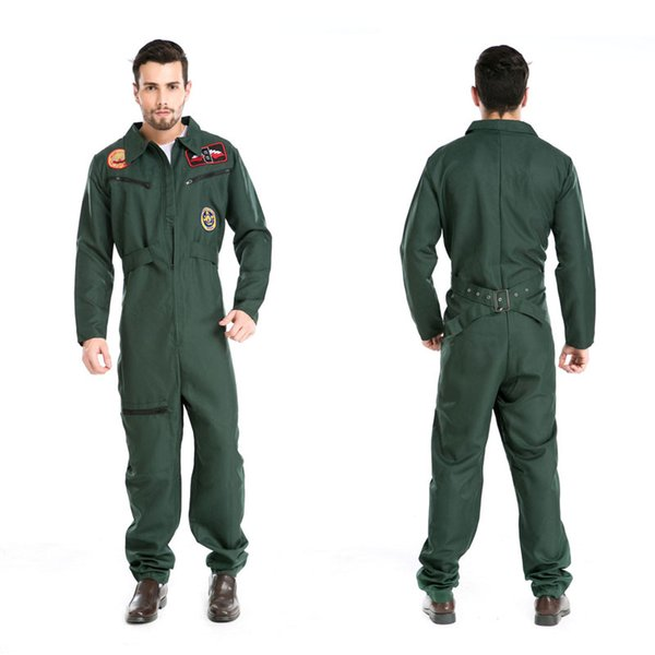 Halloween Costumes Uniform Temptation Club Stage Performance Clothing Adult Mens Pilot Aviator Firefighter Costume Cosplay Clothing  sc 1 st  DHgate.com & Halloween Costumes Uniform Temptation Club Stage Performance ...