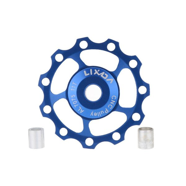 LIXADA 1 PCS 11T MTB Bike ceramic bearing jockey wheels pulleys for Mountain Road bicycle 5 colors
