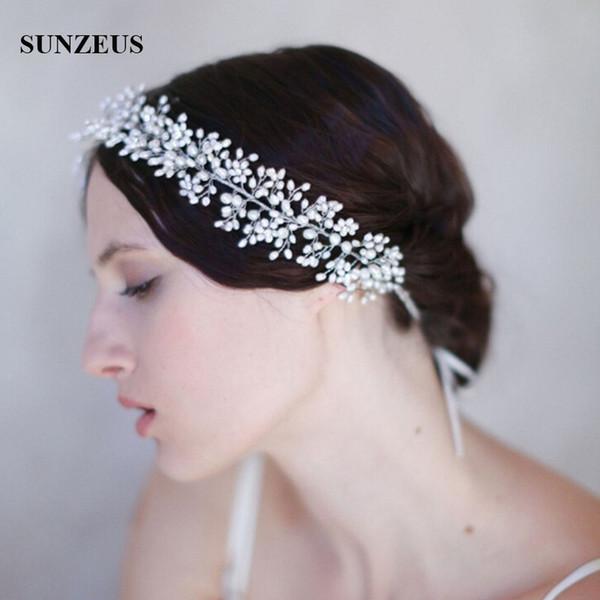 Catena per capelli da sposa, perline, copricapo, per capelli, per sposa, accessori per la sposa