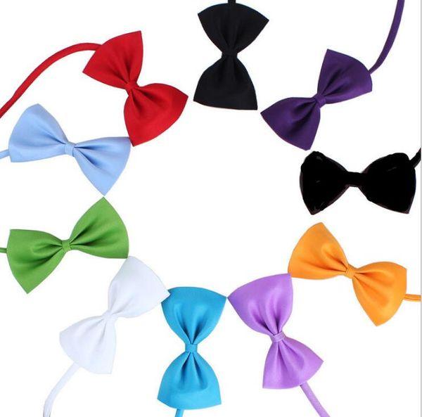 Festival decoration halloween Dog Pet Bowties Gentel Bowknot Handsome Dog Neck Tie Cat Ties Collars Pet Grooming Supplies collars