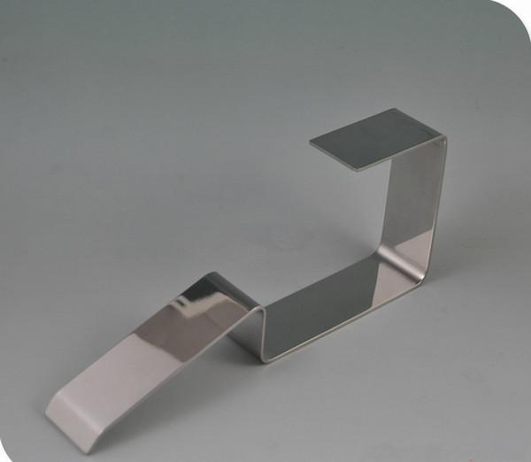 High-grade Mirror Mirror surface stainless steel belt display racks stand P2