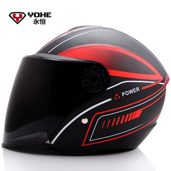 2016 Fashion YOHE half face motorcycle helmet electric bicycle motorbike helmets YH870A Made of ABS for men and women