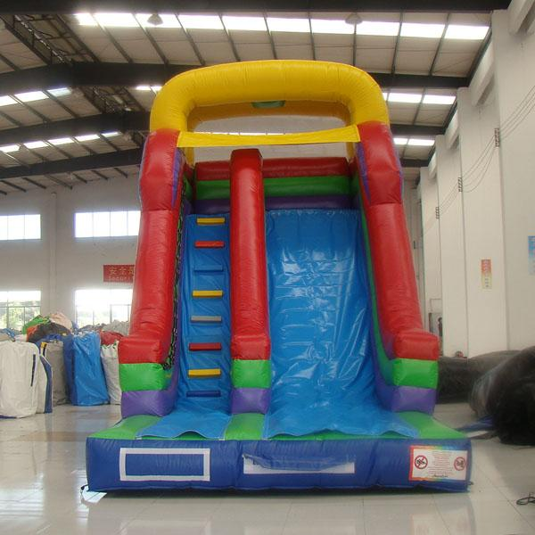 China inflatable toys factory price customized inflatable slide mini inflatable stair slide for sale made in AOQI