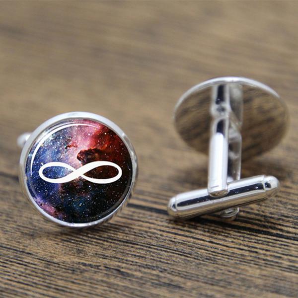 Kol düğmesi gümüş