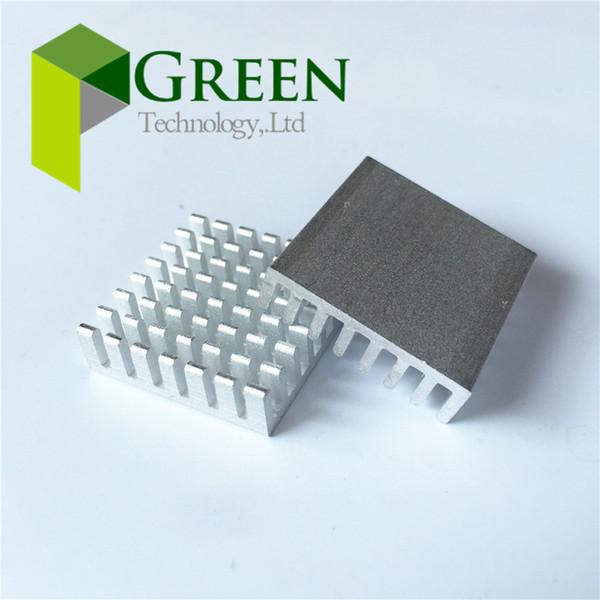 10pcs/lot 28*28*8 MM Aluminum Heat Sink 28x28x8 MM Chip Graphics card cooling fin Heat sinks