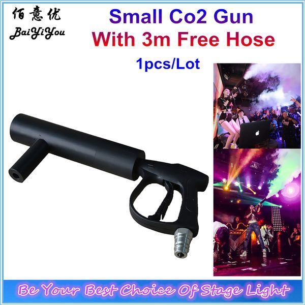 Wholesale- Disco Club Co2 Gun DJ CO2 Shoot Jet Machine Stage Effect Party Handhold CO2 Gun Jet Machine With 3 Meters Hose