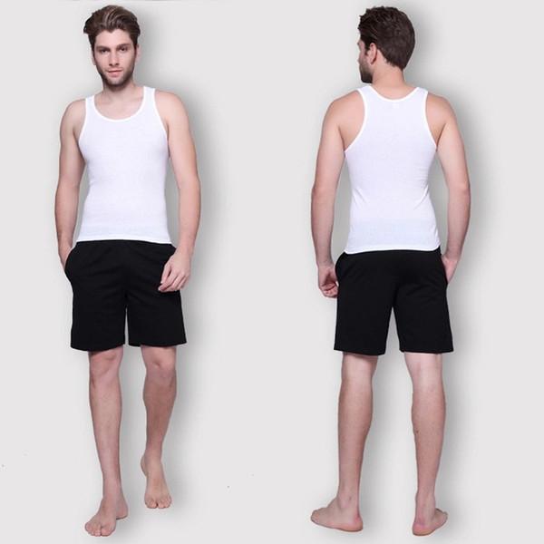Hombres de la aptitud Tank Tops de Algodón Básico Singlet Culturismo Underhirst Sliming Ropa Gimnasio Chaleco Muscle Crop Top Plus Tamaño