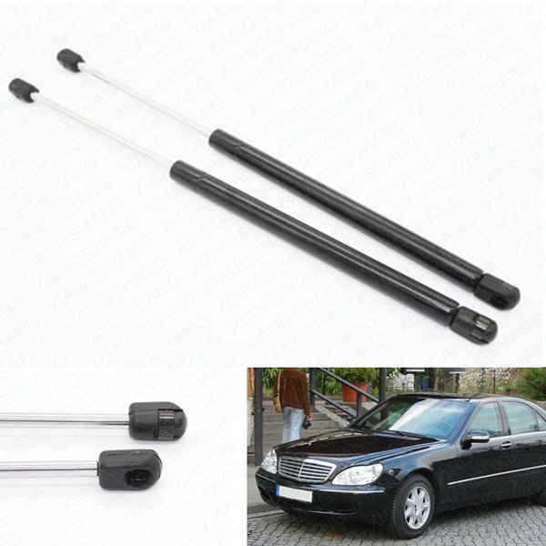 2 piezas Auto capó capó Gas Struts Amortiguadores Car Lift Soportes para Mercedes-Benz W220 S280 S320 S350 S400 S500 S600