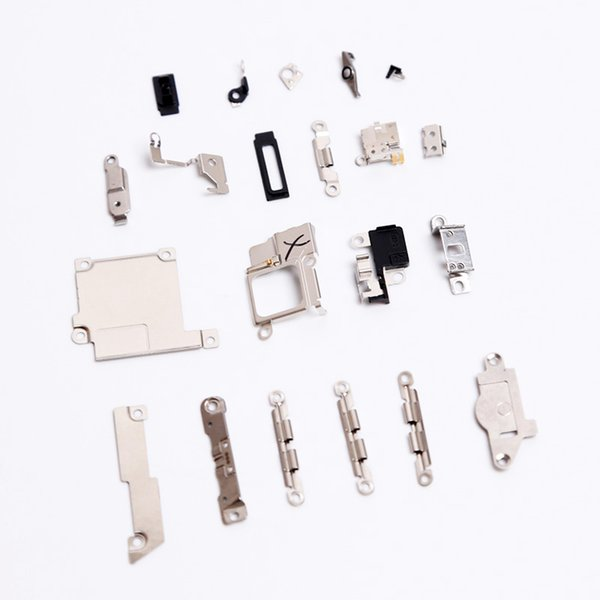 high quality For iPhone 5s Inside Small Metal Parts Holder Bracket Shield Plate Repair Parts Free shipping