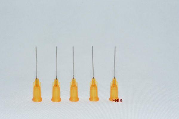 23GA 1-inch tubing length,Precision Blunt S.S. dispensing Tips 100pcs/pack