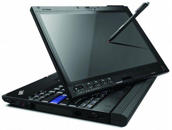 computer con riparazione di alldata hdd nuovo 10.53 e mitchell 5.8 installato versione touchscreen laptop x200t